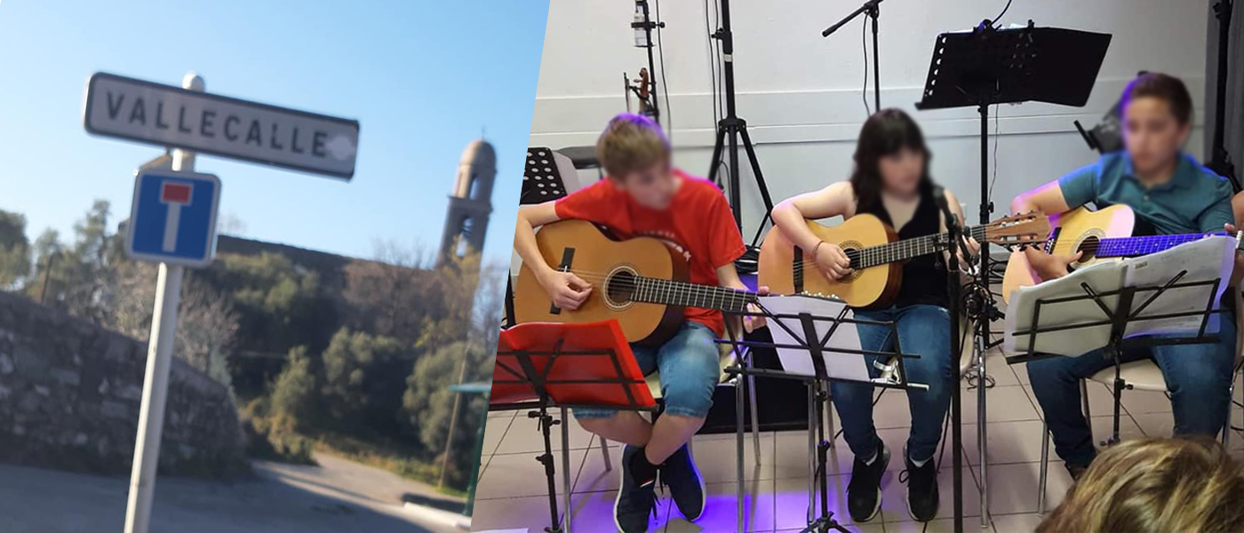 Cours de Guitare sur Vallecalle
